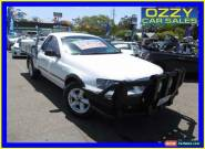 2004 Ford Falcon BA RTV White Automatic 4sp A Cab Chassis for Sale