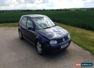 VW Golf SE 1.6 (2000) Indigo Blue, Petrol  for Sale