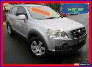 2008 Holden Captiva CG MY09 SX (FWD) Silver Automatic 5sp A Wagon for Sale