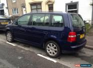 Volkswagen Touran 7 seater 1.9 TDI, no reserve for Sale