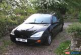 Classic 2001 FORD FOCUS 1.8 DIESEL ESTATE BLACK 50MPG MOT for Sale