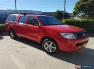 2011 Toyota Hilux GGN15R MY11 Upgrade SR Red Automatic 5sp A for Sale