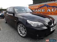 BMW 525 2.5TD 2005MY d Sport diesel black for Sale
