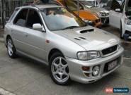 2000 Subaru Impreza MY00 WRX (AWD) Silver Manual 5sp M Hatchback for Sale