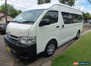 2010 Toyota Hiace KDH223R MY11 Up Commuter White Automatic 4sp A Mini Bus for Sale