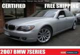 Classic 2007 BMW 7-Series for Sale