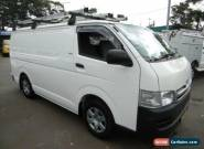 2010 Toyota Hiace TRH201R MY07 Upgrade LWB White Automatic 4sp A Van for Sale