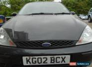 2002 FORD FOCUS LX AUTO BLACK for Sale