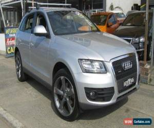 Classic 2011 Audi Q5 8R MY11 2.0 TFSI Quattro Silver Automatic 7sp A Wagon for Sale