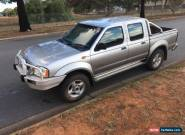 2003 Nissan Navara D22 3L turbo diesel 4x4 side damaged repairable drives for Sale