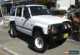Classic 1997 Nissan Patrol GQ ST (4x4) White Manual 5sp M Wagon for Sale