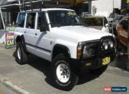 1997 Nissan Patrol GQ ST (4x4) White Manual 5sp M Wagon for Sale