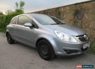 2007 VAUXHALL CORSA CLUB 1.3 CDTI SPARES OR REPAIR NON RUNNER NO MOT NO RESERVE for Sale