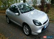 1999 FORD PUMA 1.7 16V SILVER FULL SERVICE HISTORY, CAMBELT DONE for Sale