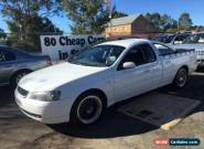2003 Ford Falcon White Automatic 4sp A Utility for Sale