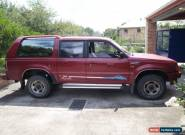 ford raider 1995 been in family over 12 years for Sale