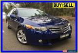 Classic 2009 Honda Accord 10 Euro Luxury Blue Automatic 5sp A Sedan for Sale
