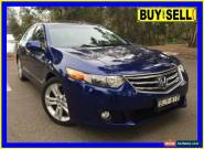 2009 Honda Accord 10 Euro Luxury Blue Automatic 5sp A Sedan for Sale