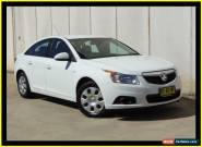 2013 Holden Cruze JH MY13 CD White Automatic 6sp A Sedan for Sale