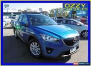 2012 Mazda CX-5 Maxx Sport (4x4) Blue Automatic 6sp A Wagon for Sale