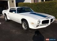 1970 Pontiac Trans Am TRANS AM for Sale