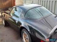 Pontiac: Trans Am Turbo for Sale