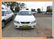 2007 Ford Falcon BF MkII XT (LPG) White Automatic 4sp A Sedan for Sale
