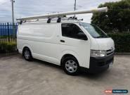 2010 Toyota Hiace KDH201R MY07 Upgrade LWB Manual 5sp M Van for Sale