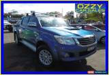 Classic 2013 Toyota Hilux KUN26R MY12 SR5 (4x4) Blue Automatic 4sp A Dual Cab Pick-up for Sale