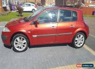 RENAULT MEGANE 1.6 PETROL MANUAL RED  for Sale