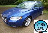 Classic 2008 Volvo V50 2.0D SE Lux 5dr Estate Diesel for Sale