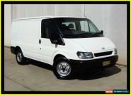 2004 Ford Transit VJ Low (SWB) White Manual 5sp M Van for Sale
