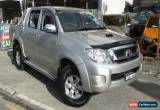 Classic 2007 Toyota Hilux KUN26R 07 Upgrade SR5 (4x4) Silver Automatic 4sp A for Sale