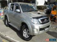 2007 Toyota Hilux KUN26R 07 Upgrade SR5 (4x4) Silver Automatic 4sp A for Sale
