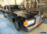 1988 Rolls-Royce Silver Spur Black Sedan for Sale