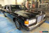 Classic 1988 Rolls-Royce Silver Spur Black Sedan for Sale
