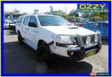 Classic 2011 Toyota Hilux KUN26R MY11 Upgrade SR (4x4) Glacier White Manual 5sp M for Sale