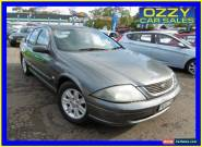 2002 Ford Falcon Auiii SR Silver Automatic 4sp A Sedan for Sale
