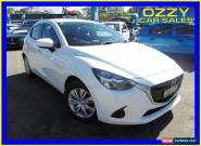 2014 Mazda 2 DJ Neo Pearl White Automatic 6sp A Hatchback for Sale