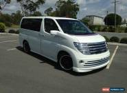 2002 NISSAN ELGRAND E51 RIDER ABSOLUTE LUXURY for Sale