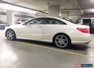 Mercedes-Benz: E-Class E350 Coupe for Sale