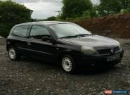 2003 RENAULT CLIO EXTREME 1.2 16V BLACK for Sale