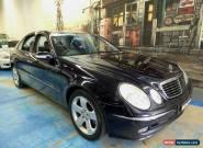 2003 Mercedes-Benz E500 W211 Avantgarde Dark Blue Automatic 5sp A Sedan for Sale