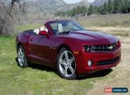 Chevrolet: Camaro 2SS/RS for Sale