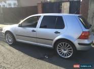 2002 VW GOLF 1.6 SE SILVER for Sale