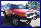 Classic 2012 Toyota FJ Cruiser GSJ15R Red Automatic 5sp A Wagon for Sale