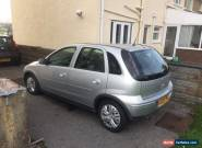 2005 VAUXHALL CORSA DESIGN TWINPORT SILVER for Sale