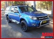 2010 Ford Ranger Blue Manual M Utility for Sale