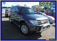 2007 Mitsubishi Pajero NS Exceed LWB (4x4) Grey Automatic 5sp A Wagon for Sale
