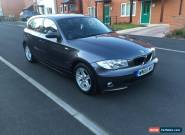 2005 55 BMW 120I SE GREY LOW MILEAGE FULL SERVICE HISTORY for Sale